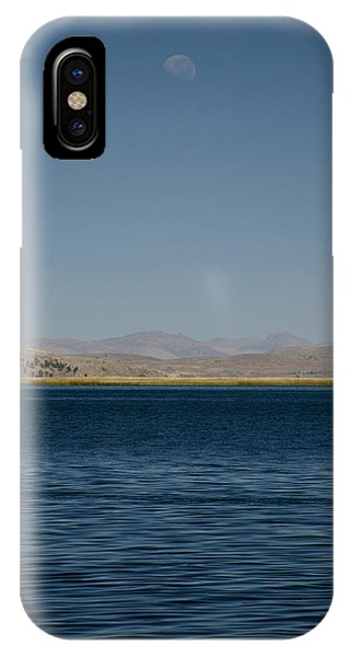 Lake Moonrise IPhone Case