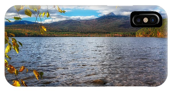 Lake-mt.chocorua Nh IPhone Case