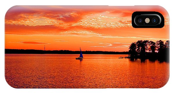 Lake Murray Sunset IPhone Case