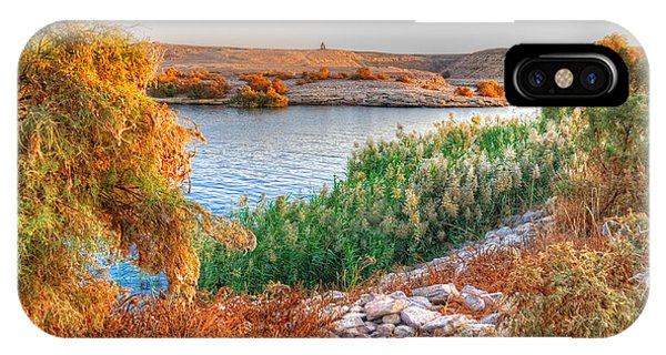Lake Nasser Sunset IPhone Case