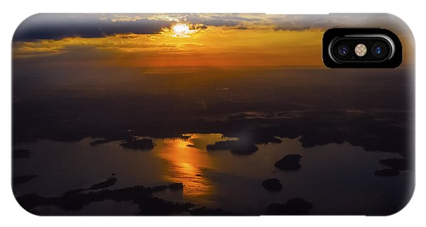 Lake Norman Sunrise IPhone Case