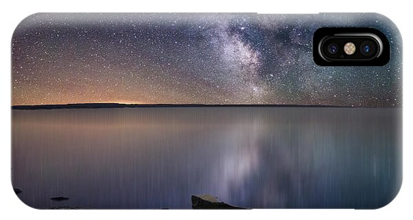 Lake Oahe IPhone Case