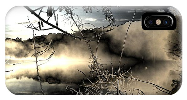 Lake Of The Shadowed Mist IPhone Case