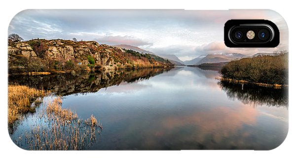 Lake Padarn Sunset IPhone Case