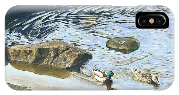 Mallard - Drake And Hen IPhone Case