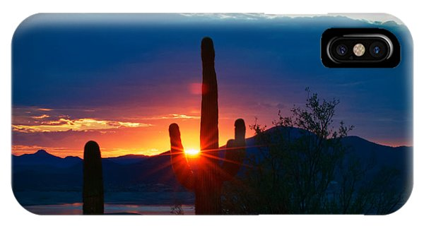 Lake Pleasant Arizona IPhone Case