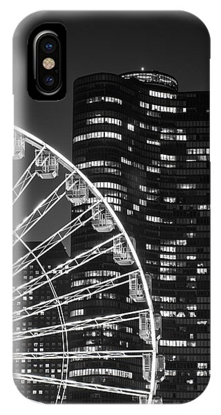 Lake Point Tower IPhone Case
