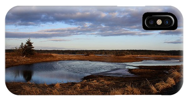 Lake Reflection Phone Case by Sandy MacNeil
