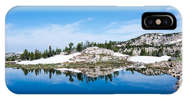 Lake Reflections IPhone Case
