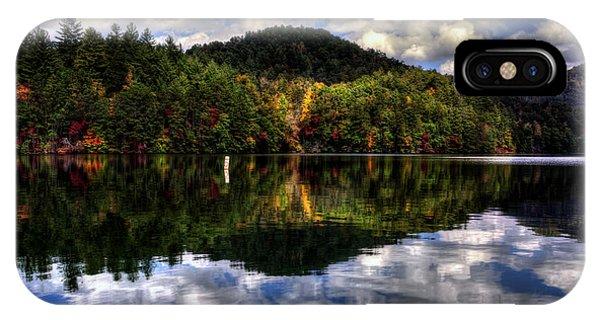 Lake Santeetlah In Fall IPhone Case