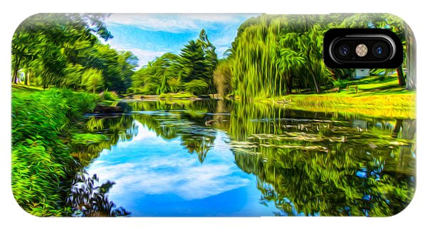 Lake Scene IPhone Case