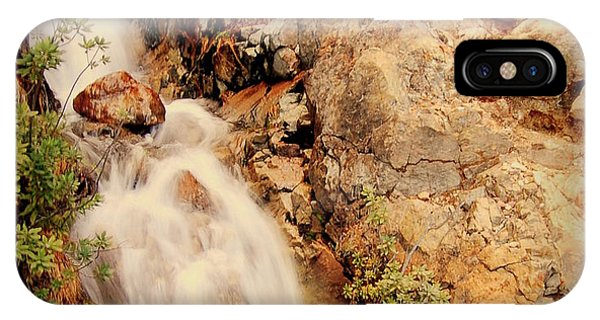 Lake Shasta Waterfall 2 IPhone Case