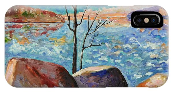 Lake Simcoe Peace Phone Case by Heather Kertzer