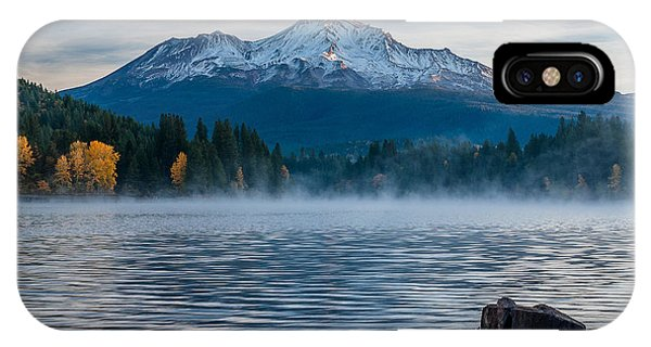 Lake Siskiyou Morning IPhone Case