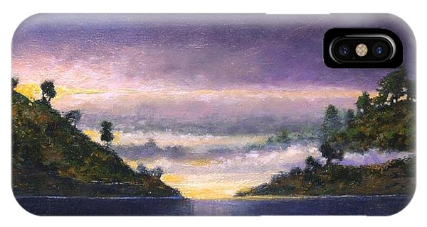 iPhone Case - Lake Sunrise by Jim Gola