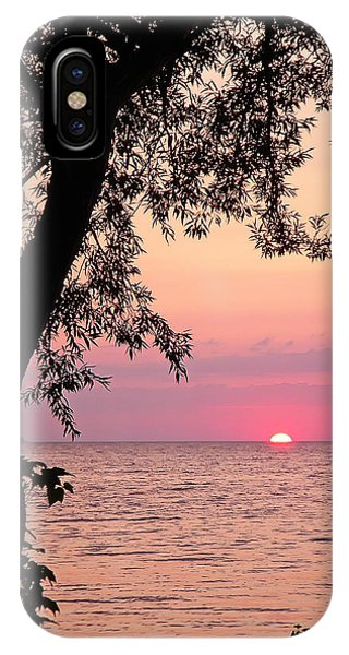 Lake Sunset IPhone Case