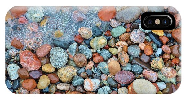 Lake Superior iPhone Case - Lake Superior Stones 3 by Kathryn Lund Johnson
