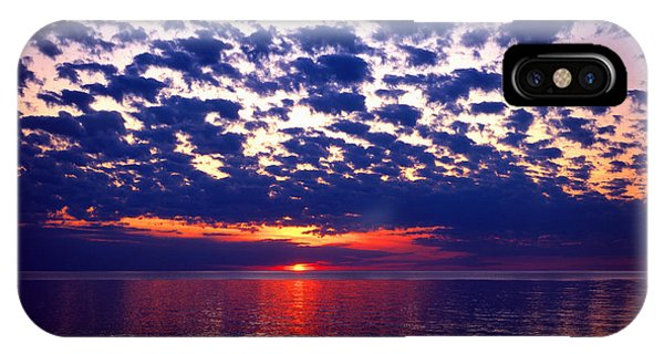 Lake Superior Sunset Phone Case by Tim Hawkins