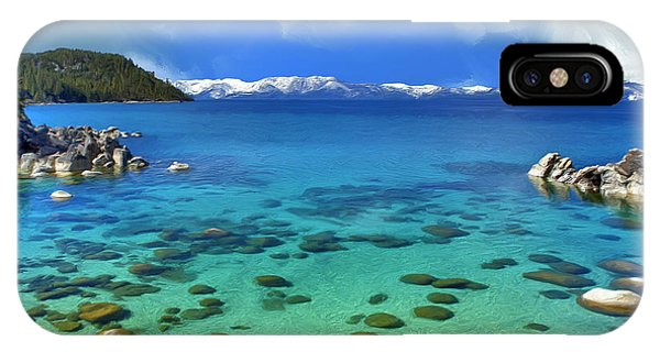 Lake Tahoe Cove IPhone Case