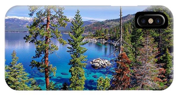 Lake Tahoe Eastern Shore IPhone Case