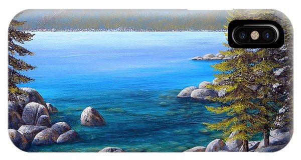 Lake Tahoe Inlet IPhone Case