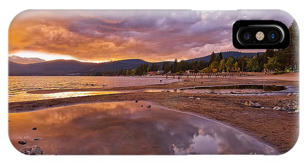 IPhone Case featuring the photograph Lake Tahoe by Mae Wertz