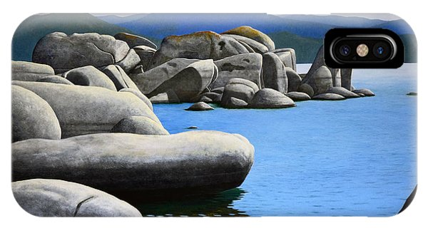 Lake Tahoe Rocky Cove IPhone Case