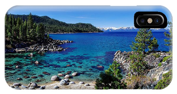 Lake Tahoe Springscape IPhone Case