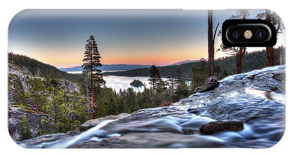 Lake Tahoe Sunset At Eagle Falls IPhone Case