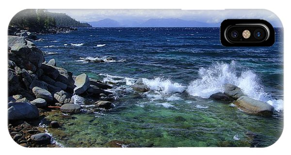 IPhone Case featuring the photograph Lake Tahoe Wild  by Sean Sarsfield