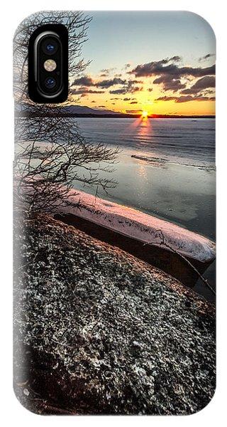 Lake Thaw IPhone Case
