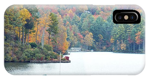 Lake Toxaway In The Fall IPhone Case