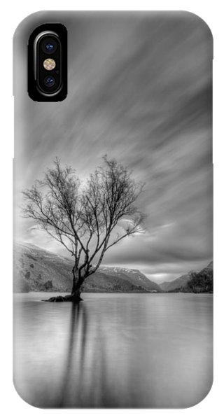 Lake Tree Mon IPhone Case