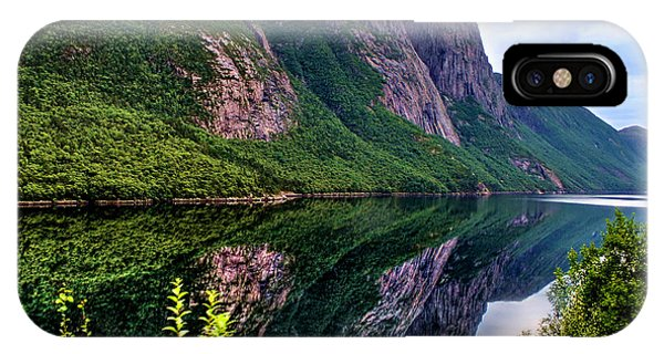 Lake Tysdalsvatnet Norway IPhone Case