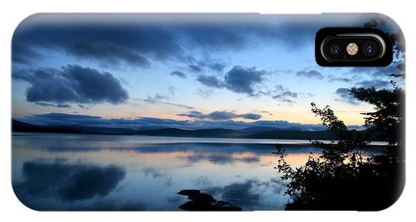 Lake Umbagog Sunset Blues No. 2 IPhone Case
