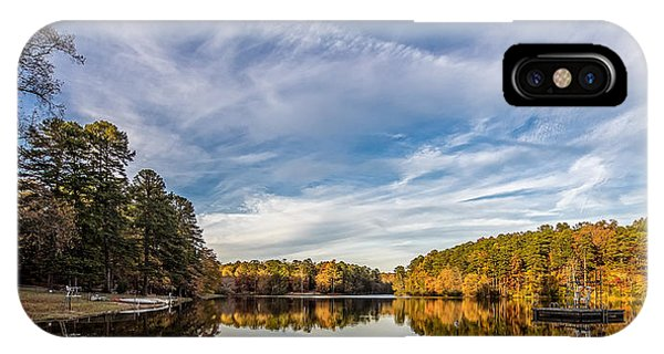 Lake View At Oconee State Park IPhone Case