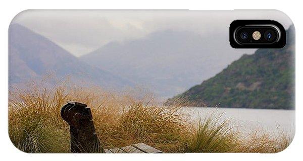 Lake Wakatipu Bench IPhone Case