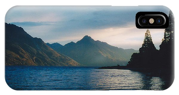 Lake Wakatipu IPhone Case