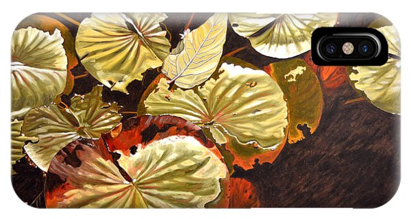 Lake Washington Lily Pad 11 IPhone Case