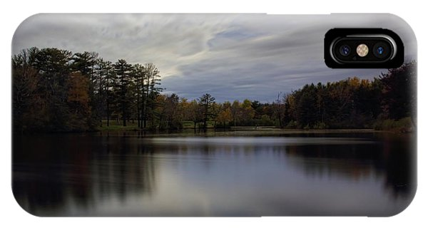 Lake Wausau's Bluegill Bay Park IPhone Case