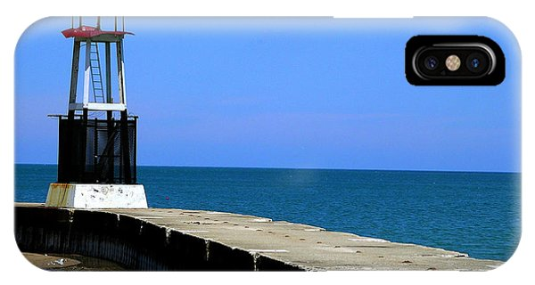 Lakefront Pier Tower IPhone Case