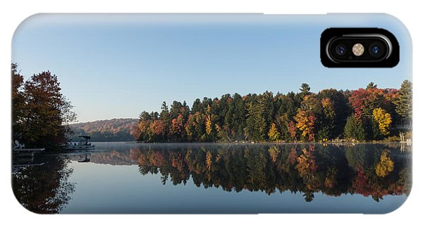 Lakeside Cottage Living - Peaceful Morning Mirror IPhone Case