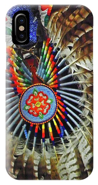 Lakota Feather Dance IPhone Case