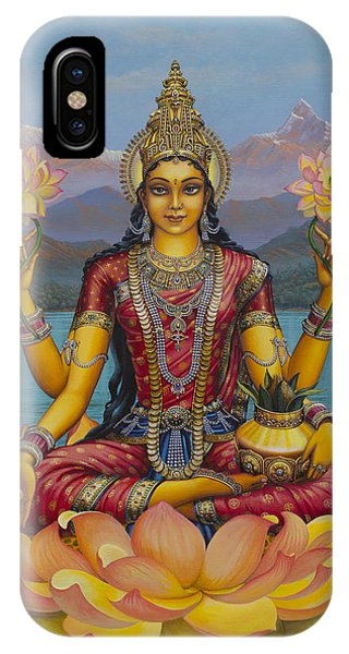 Lakshmi Devi IPhone Case