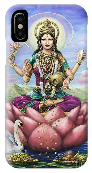 Lakshmi Goddess Of Fortune IPhone Case