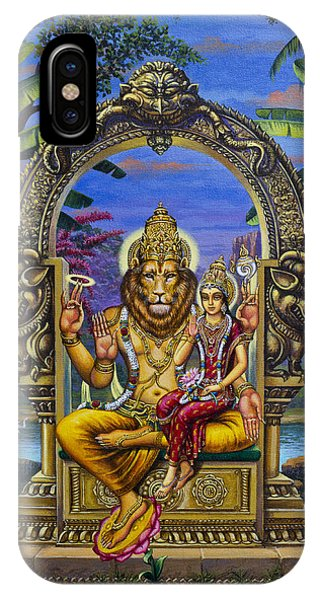 Lakshmi Narasimha IPhone Case