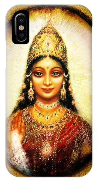 Lakshmis Blessing Phone Case by Ananda Vdovic