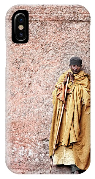 Male iPhone Case - Lalibela Monk by Trevor Cole