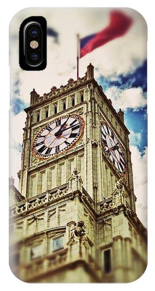 Lamar Life Clock Tower IPhone Case