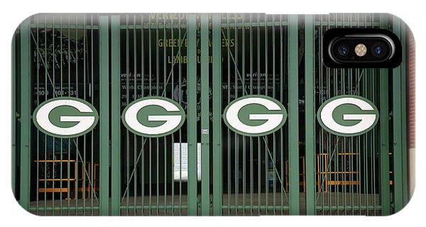 Lambeau Field - Green Bay Packers IPhone Case